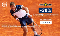 Sergio Tacchini: 30% Aktion