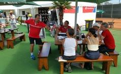 Trainerworkshop beim ATP Challenger in Marburg