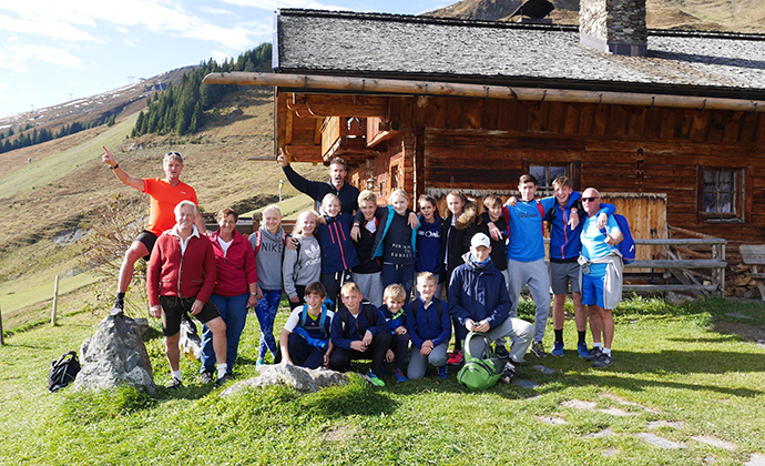 Konditionslehrgang in Saalbach-Hinterglemm
