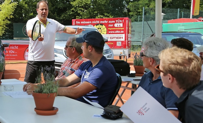 Trainerworkshop - Tennis International in Darmstadt
