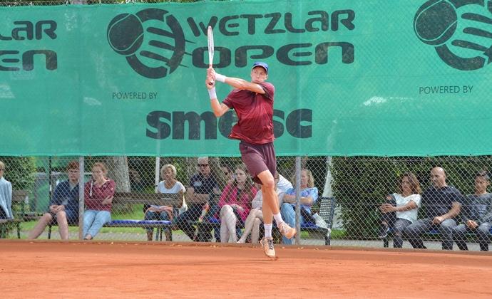 """Jan Choinski gewinnt die """"Wetzlar Open"""""""