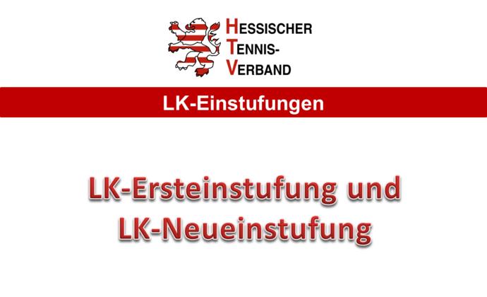LK-Ersteinstufung und LK-Neueinstufung