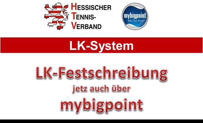 Neu: LK-Festschreibung über mybigpoint