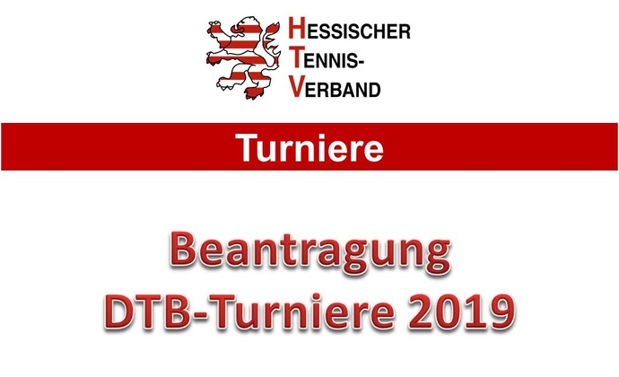 DTB-Turnierantrag 2019