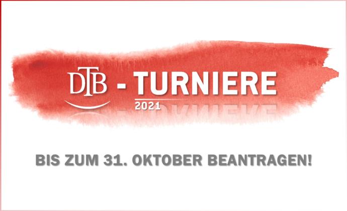 DTB-Turnierantrag 2021