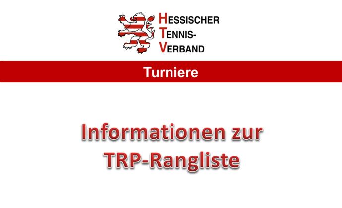 Informationen des DTB zur neuen Rangliste