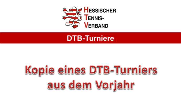 DTB-Turnierantrag