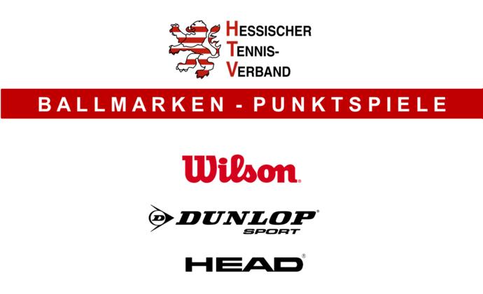 Ballmarken: Wilson, Dunlop und Head