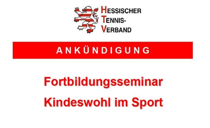 Seminar Kindeswohl im Sport