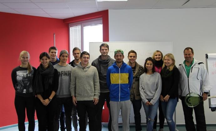 Hochschulkurs der Goethe-Universität Frankfurt im Leistungszentrum des HTV