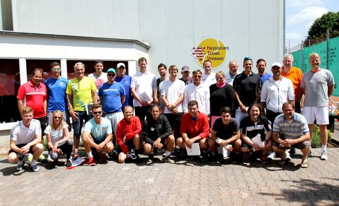 Erfolgreiche Fortbildung beim ITF Jugendturnier in Offenbach