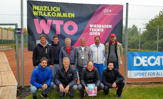 HTV Trainerworkshop bei den Wiesbaden Tennis Open