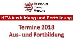 Ausbildungs- und Fortbildungstermine 2018