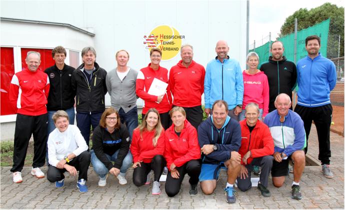 Bezirkstrainertreffen beim ITF Turnier Offenbach