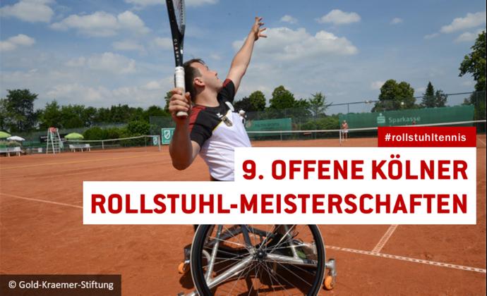 9. Offenen Kölner Rollstuhltennis-Meisterschaften