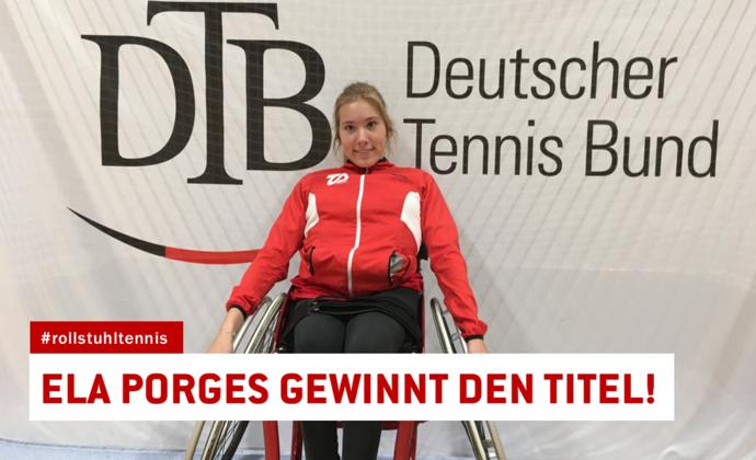 31. Deutsche Meisterschaft im Rollstuhltennis
