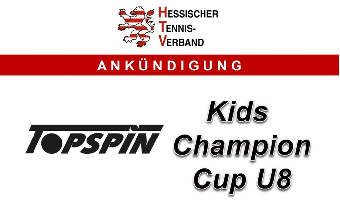 Topspin Kids Champion Cup U8 2017