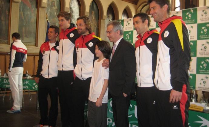 Davis Cup-Spielansetzung von HTV-Nachwuchstalent ausgelost