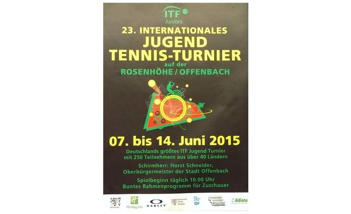 Ankündigung des ITF-Jugend-Turniers