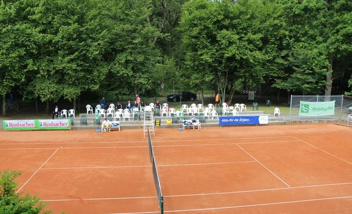 Tag 2 des ITF-Turniers beim HTV