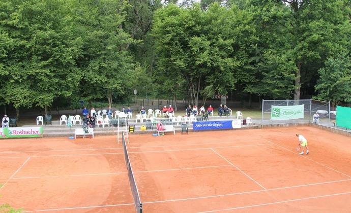 Tag 4 des ITF-Turniers beim HTV