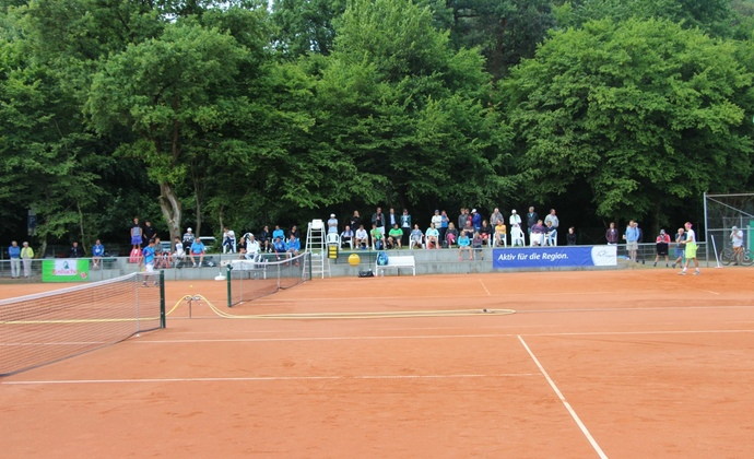 Tag 5 des ITF-Turniers beim HTV