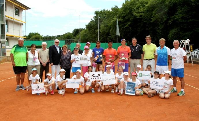 Tag 8 des ITF-Turniers beim HTV
