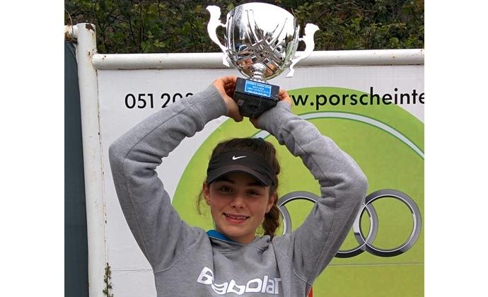 Sarah Nikocevic gewinnt Tennis Europe Turnier
