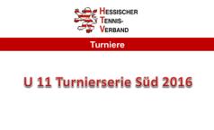 U11-Turnierserie Süd 2016