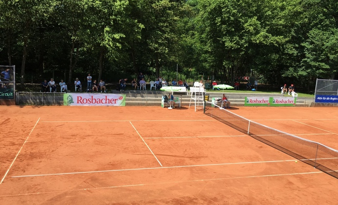 Start des ITF-Turniers 2016 in Offenbach