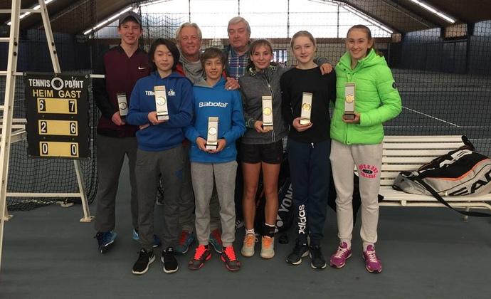HTV-Juniorinnen gewinnen Südwest-Circuit