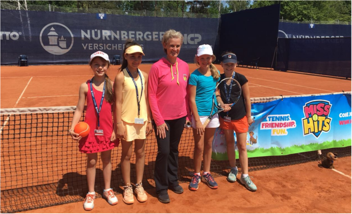 HTV-Nachwuchs zu Besuch bei WTA Turnier