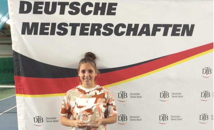 Kathleen Kanev holt Deutschen Meistertitel bei den Juniorinnen U18