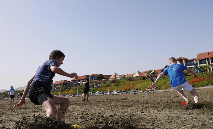 HTV-Trainingslager auf Zypern - Tag 2