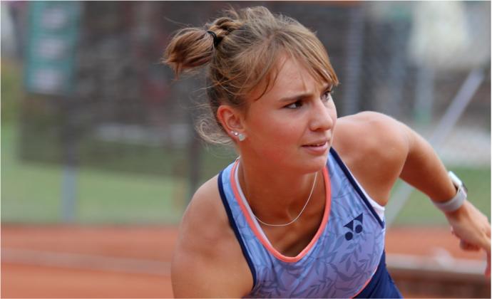 Mara Guth bei den Europameisterschaften