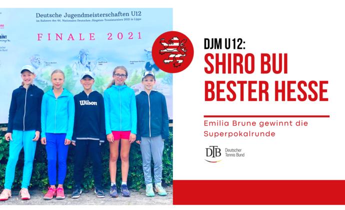 DJM U12: Shiro Bui bester Hesse