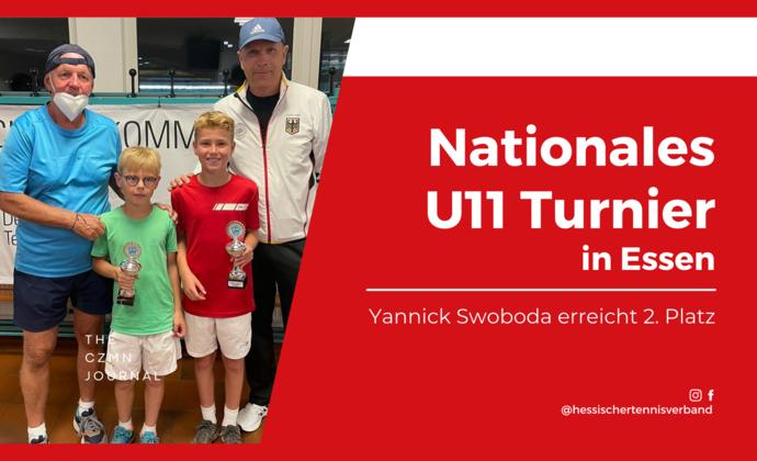 Nationales U11 Turnier in Essen