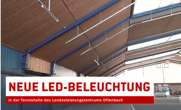 Neue LED-Beleuchtung