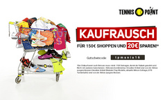 Kaufrausch bei Tennis-Point