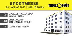 Sportmesse bei Tennis-Point