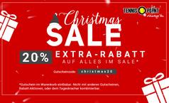 Christmas Sale mit 20% Extra-Rabatt
