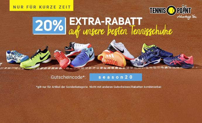 Nur für kurze Zeit: 20% Schuh Special