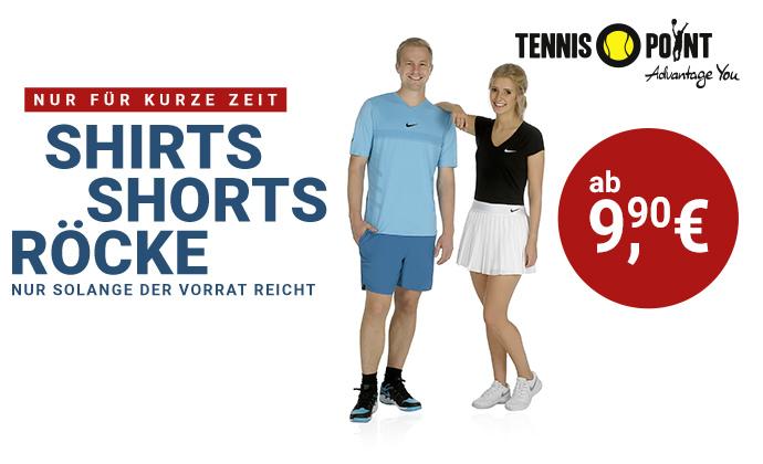 Shirts, Shorts, Röcke!