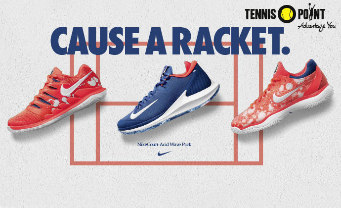 NIKE - CAUSE A RACKET