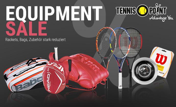 Equipment Sale bei Tennis-Point