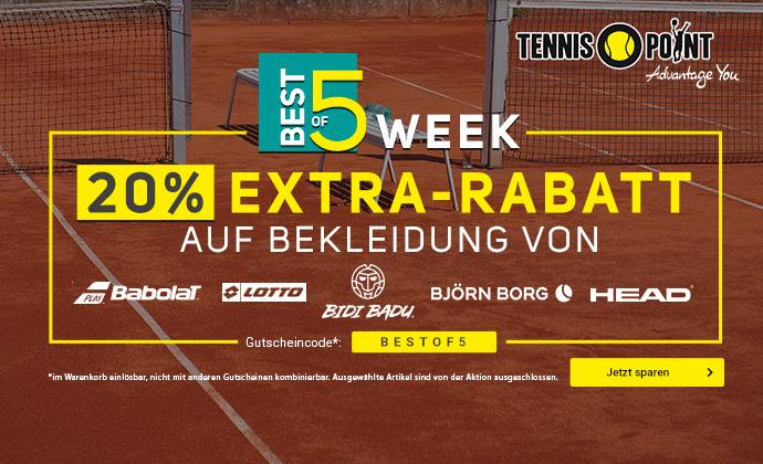 Best of 5 Week - 20% Extra-Rabatt