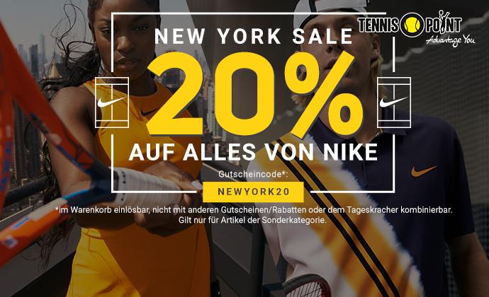 Nike NY Sale kampagne