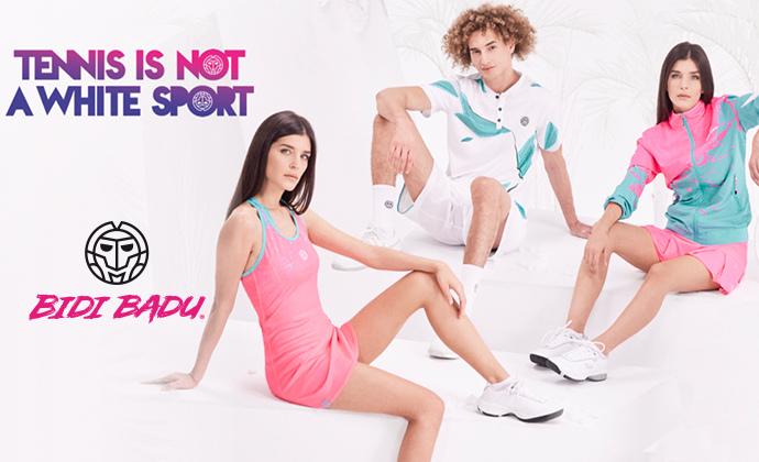 Die BIDI BADU Roland Garros Outfits sind da