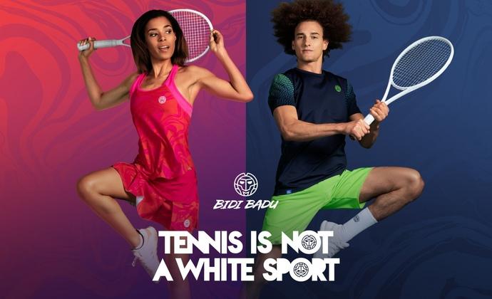 TENNIS IS NOT A WHITE SPORT - BIDI BADU