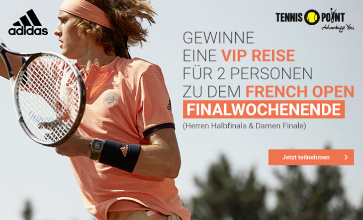 Tennis-Point French Open Gewinnspiel